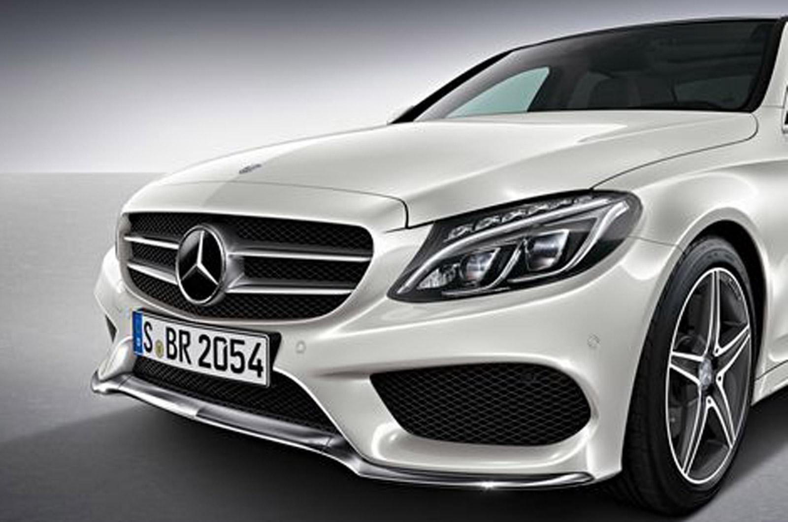 Mercedes benz c 2014 фото