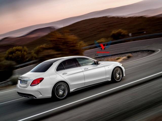 Render: 2015 Mercedes C63 AMG