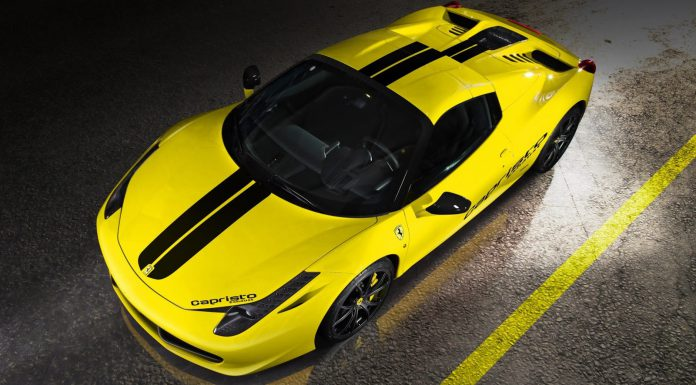 Official: Ferrari 458 Spider by Capristo