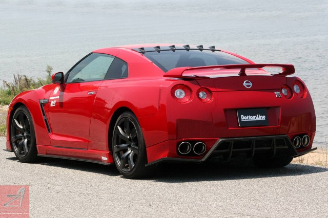 Nissan GT-R Aerodynamic Kit by Chargespeed Japan