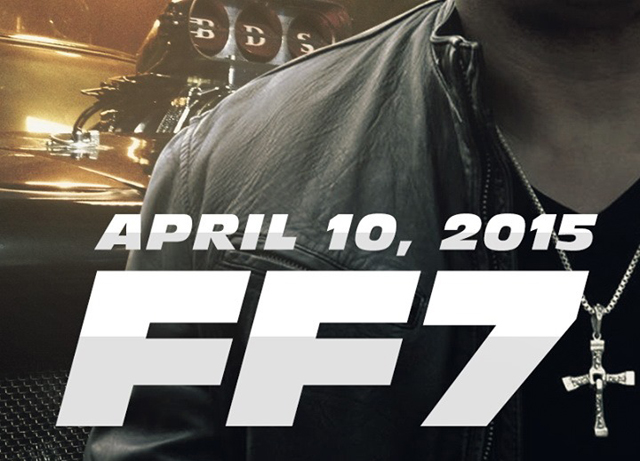 Fast and Furious 7 Confirmed for April 10th, 2015 Release