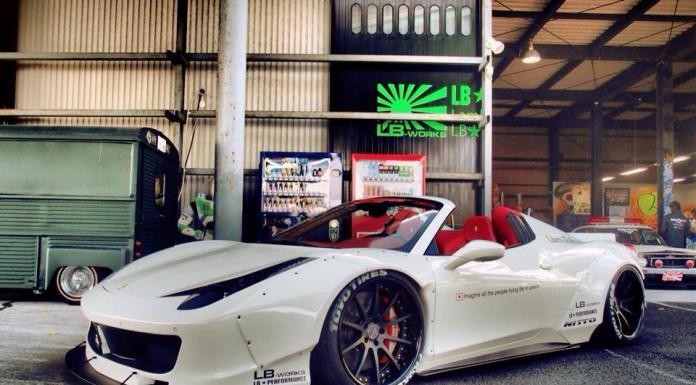 Liberty Walk Performance Ferrari 458 Spyder
