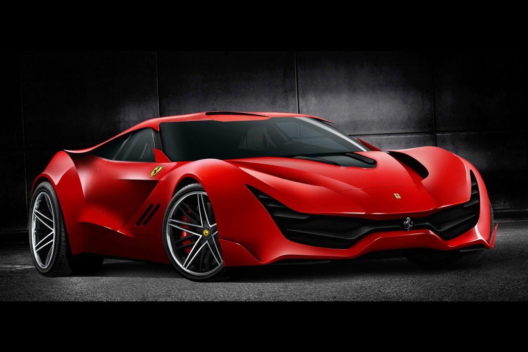 Futuristic Ferrari CascoRosso Looks The Real Deal