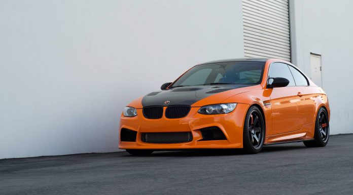 Fire Orange BMW M3 and Monte Carlo Blue BMW M5 by EAS