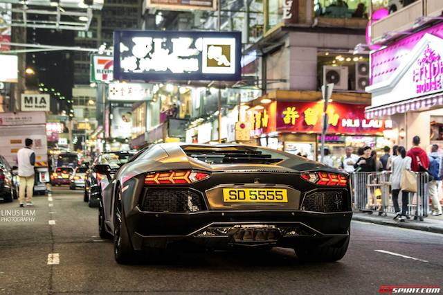 photo of the day lamborghini aventador in hong kong. Black Bedroom Furniture Sets. Home Design Ideas