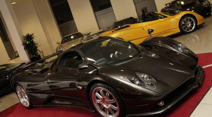 German Dealership Has Four Pagani Zondas For Sale