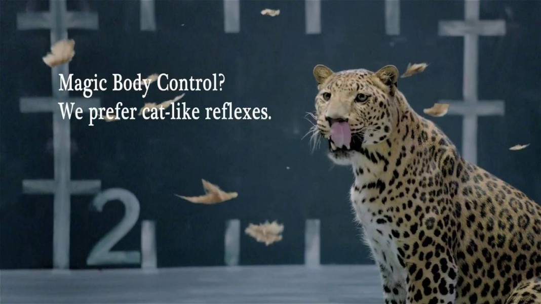 Video: Funny Jaguar's Answer to Mercedes' Magic Body Control
