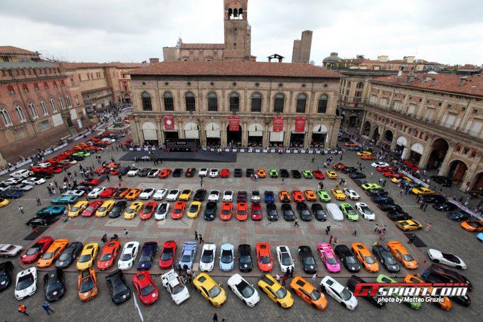 Overview of the Lamborghini Grand Giro