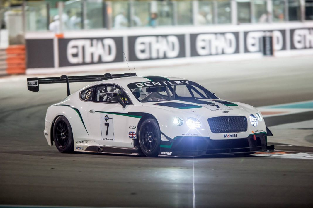 Bentley preparing for 24 Hours Nurburgring