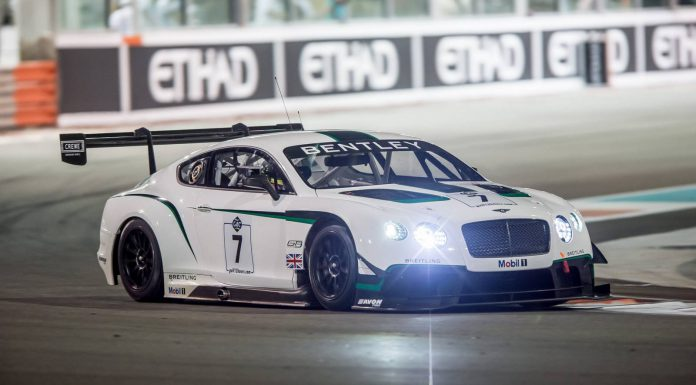 Bentley Continental GT3 Finishes Fourth at Gulf 12 Hours
