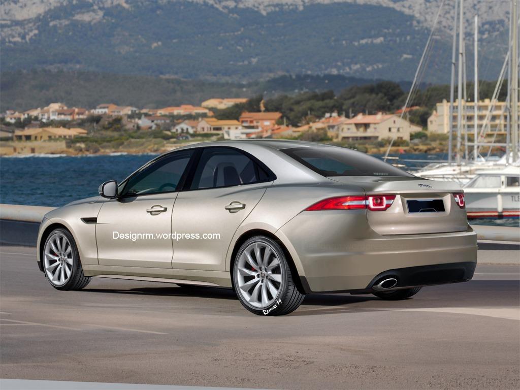 Entry-Level Jaguar XS Sedan Rendered