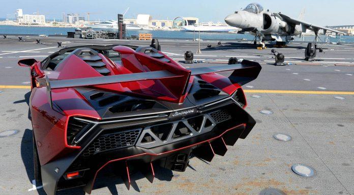 Lamborghini Veneno Roadster in Dubai