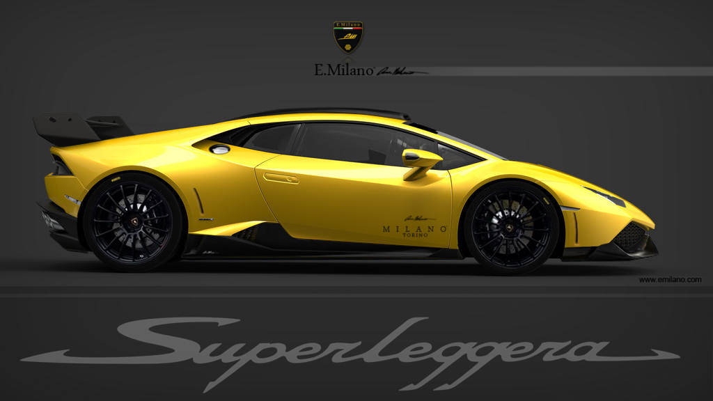 render 2014 lamborghini huracan lp 640 4 superleggera by evren milano gtsp. Black Bedroom Furniture Sets. Home Design Ideas