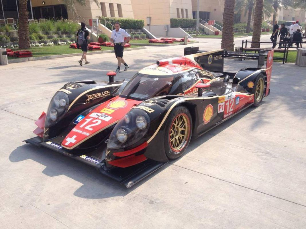 For Sale: Rebellion Racing Lola LMP1 Racer