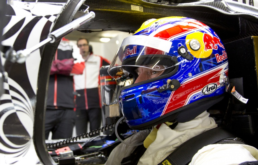 Mark Webber Tests 2014 Porsche LMP1