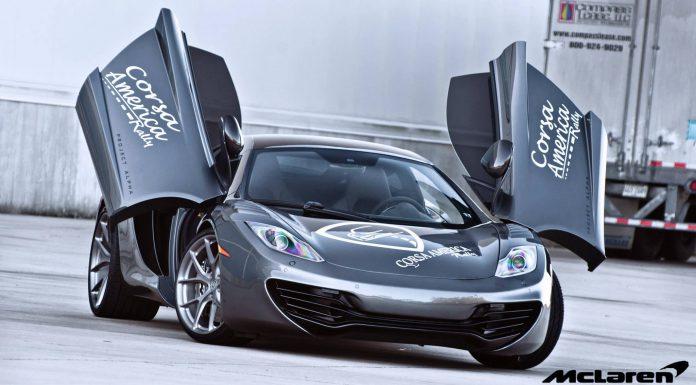 McLaren 12C Project Alpha Lowered on HRE Wheels