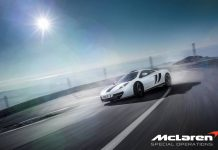 Official: McLaren MSO 12C Concept Car