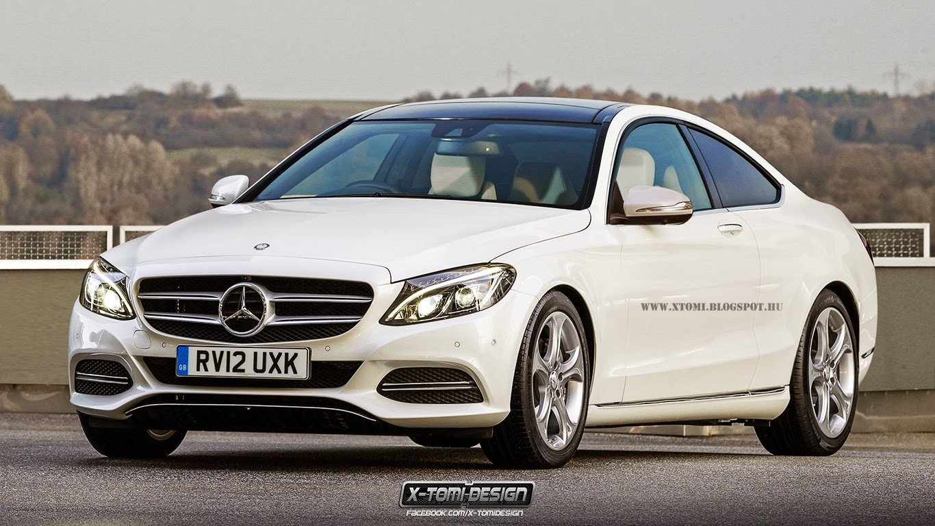 2015 mercedes-benz c-class coupe and s63 amg coupe rendered - gtspirit