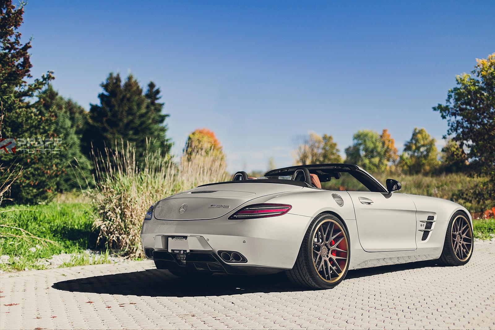 Mercedes Benz Sls Amg Roadster By Pfaff Tuning Gtspirit