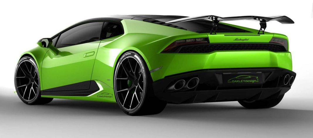 Oakley Design Lamborghini Huracan Imagined