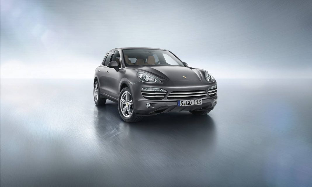 Official: 2014 Porsche Cayenne Platinum Edition