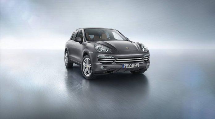 Official: 2014 Porsche Cayenne Platinum Edition