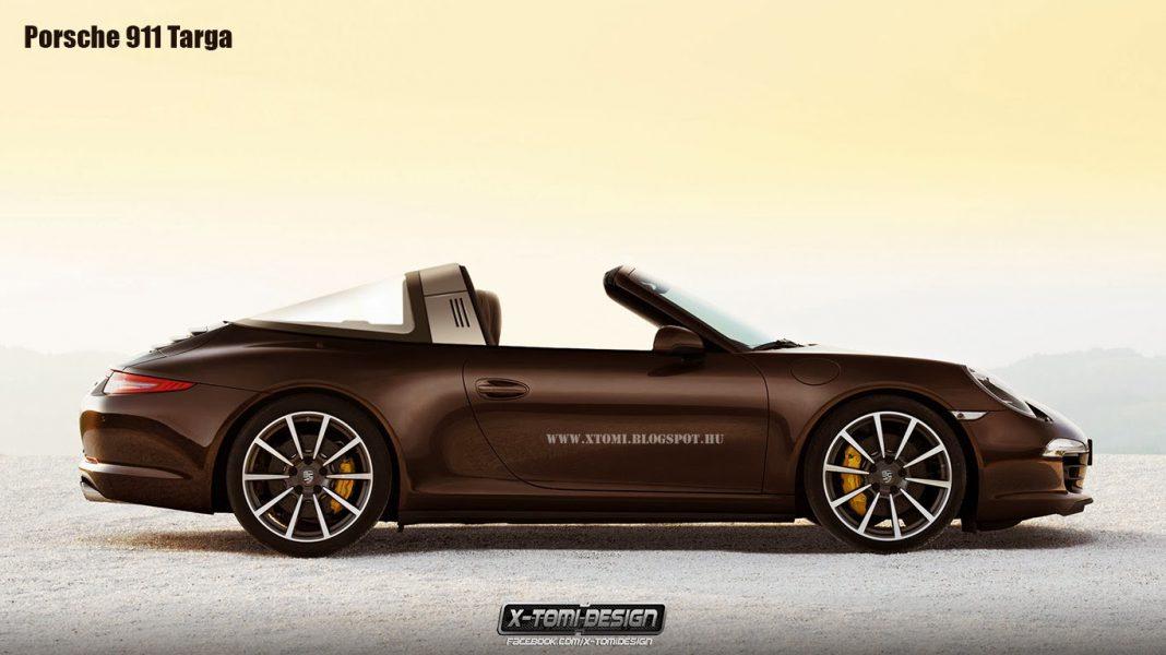 2015 Porsche 911 Targa Accurately Imagined