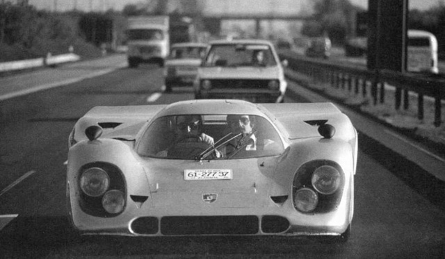 The street-legal Porsche 917 of Count Rossi