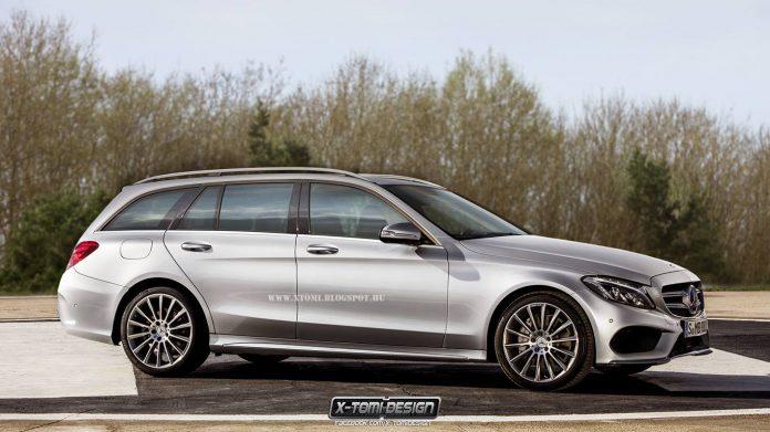 Render Mercedes-Benz C-Class Estate