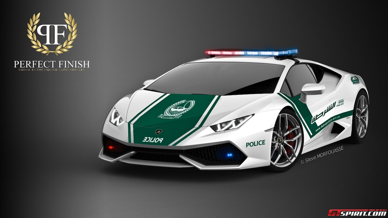 render dubai police lamborghini huracan gtspirit. Black Bedroom Furniture Sets. Home Design Ideas