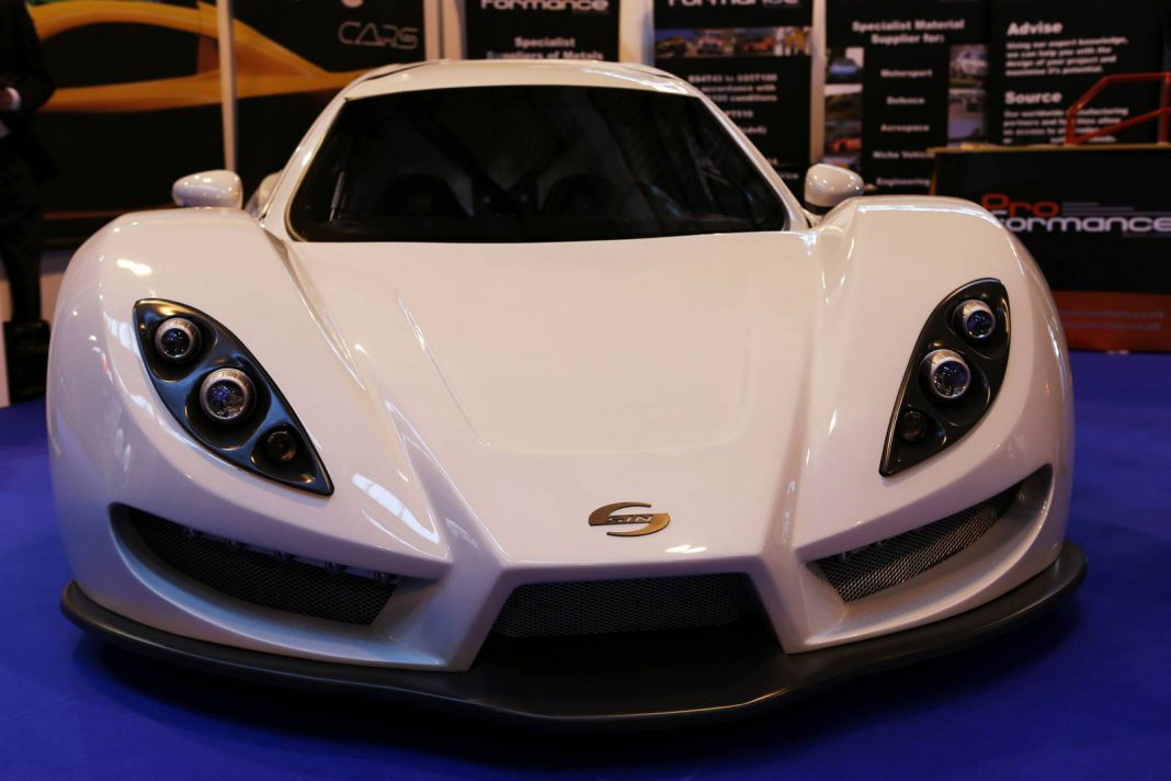 Street Legal Sin R1 Supercar to Debut at Autosport 2014
