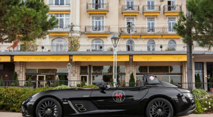 Mercedes-Benz SLR McLaren Stirling Moss in Lausanne Switzerland