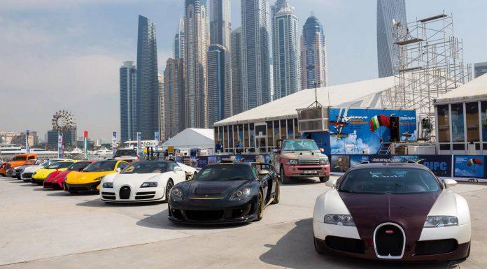 Video: Insane Supercar Lineup in Dubai!