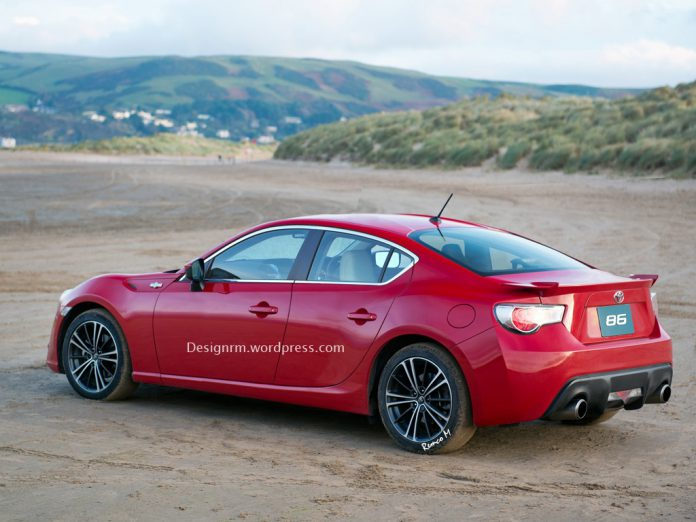 Toyota GT86 Sedan Rendering Isn't Half Bad