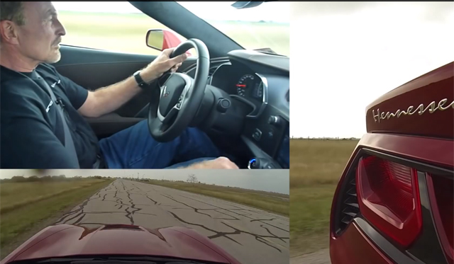 Driving the 600hp 2014 Chevrolet Corvette Stingray by Hennessey