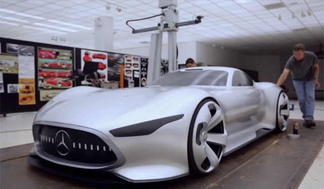 Making the Mercedes-Benz AMG Vision Gran Turismo Concept