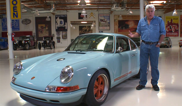 Jay Leno Tours the Stunning Singer 911
