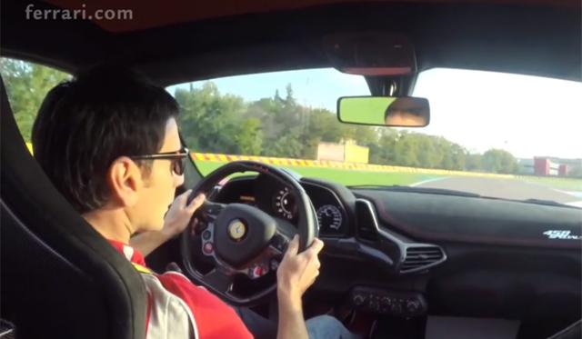 Onboard the Ferrari 458 Speciale at Fiorano
