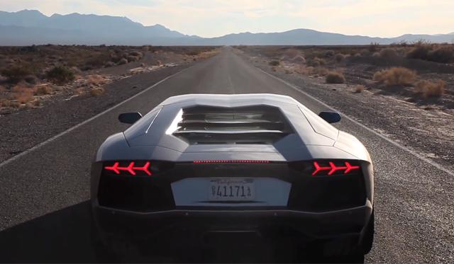 Matt Farah Drives Lamborghini Aventador to SEMA!