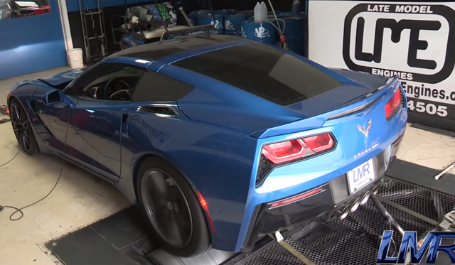 Supercharged 2014 Corvette Stingray Puts Down 713rwhp!