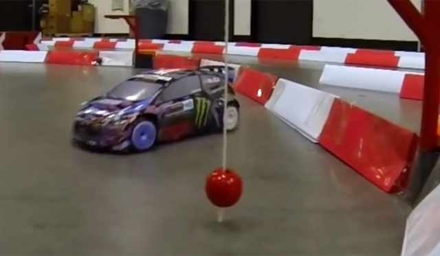 Ken Block's Gymkhana Six Replicated With RC Car