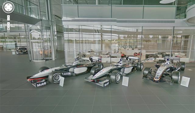 Google Street View Visits McLaren Technology Centre