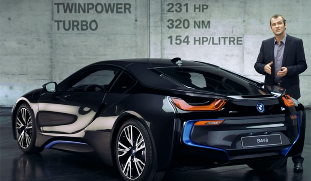 This is How the BMW i8's Advanced Powertrain Works