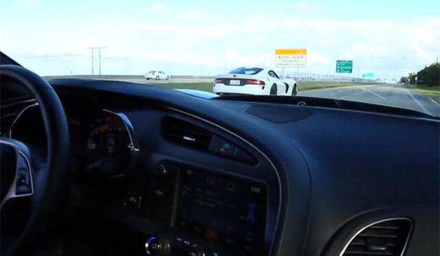 SRT Viper and McLaren 12C Show Corvette Who's Boss