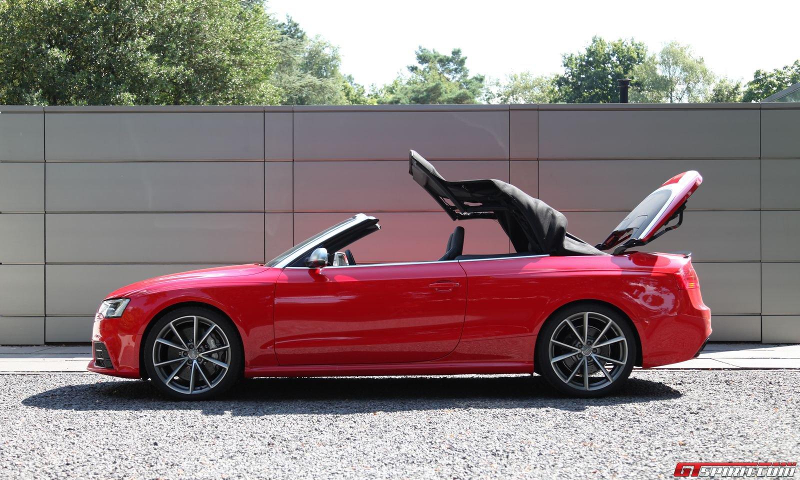 Road Test 2013 Audi Rs5 Cabriolet Gtspirit