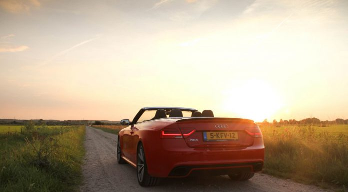 Audi RS5 Cabriolet Sunset