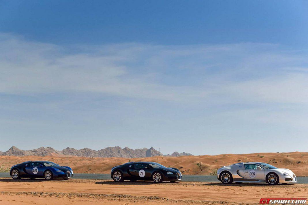 Bugatti Grand Tour Middle East 2013