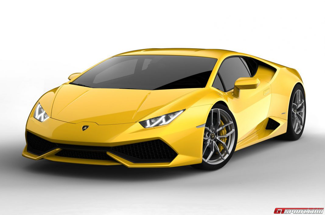 Official: 2015 Lamborghini Huracán LP 610-4