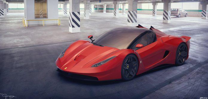 Awesome Ferrari Verus V2.0 Rendered