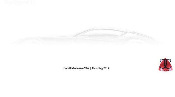 New 900hp, V16, Godsil Manhattan Supercar Teased